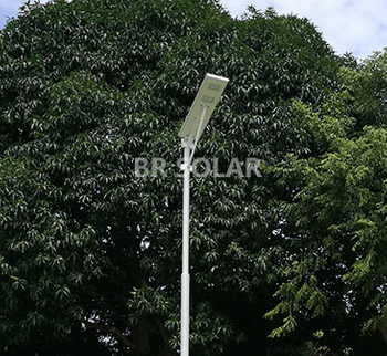 Philippines 60W AIO Solar Street Light